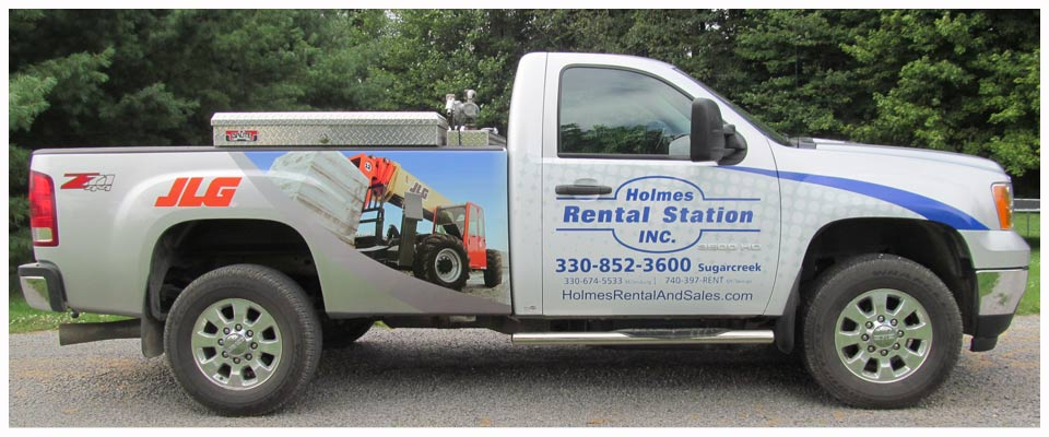 Vehicle wrap from Berlin Sign Co of Berlin,Ohio.Get your business noticed